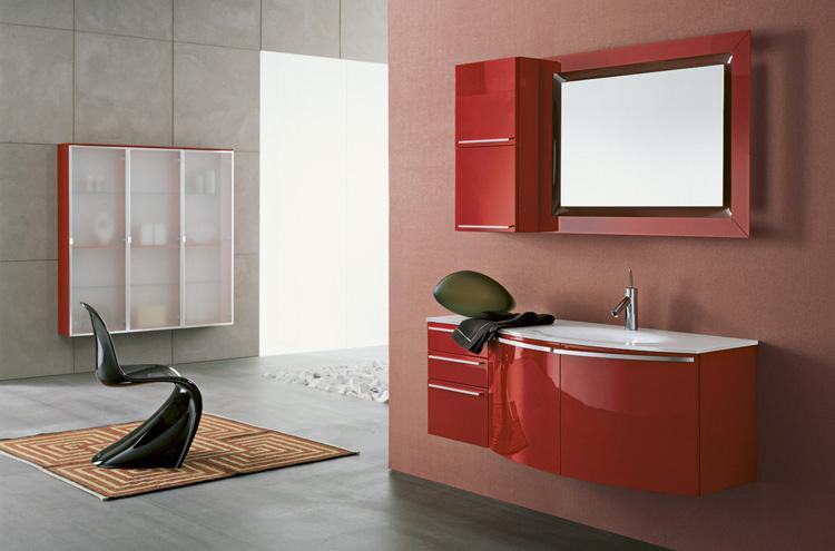 Подвесная мебель для ванной комнаты. Купить мебель для ванной ... | 495x750